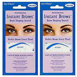 Fran Wilson® Professional Instant Brows® Brow Shaping Stencil Collection