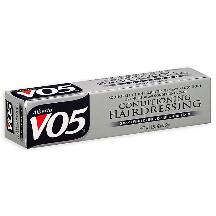 Alternate image 1 for Alberto VO5 1.5 oz. Conditioning Hairdressing Grey, White and Silver Blonde Hair