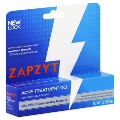 Zapzyt 1 Oz Maximum Strength Acne Treatment Gel Bed Bath Beyond