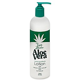 Triple Lanolin® 16 oz. Aloe Vera Hand and Body Lotion