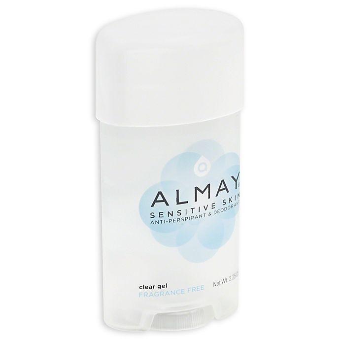 Alternate image 1 for Almay 2.25 oz. Antiperspirant Clear Fragrance Free Gel