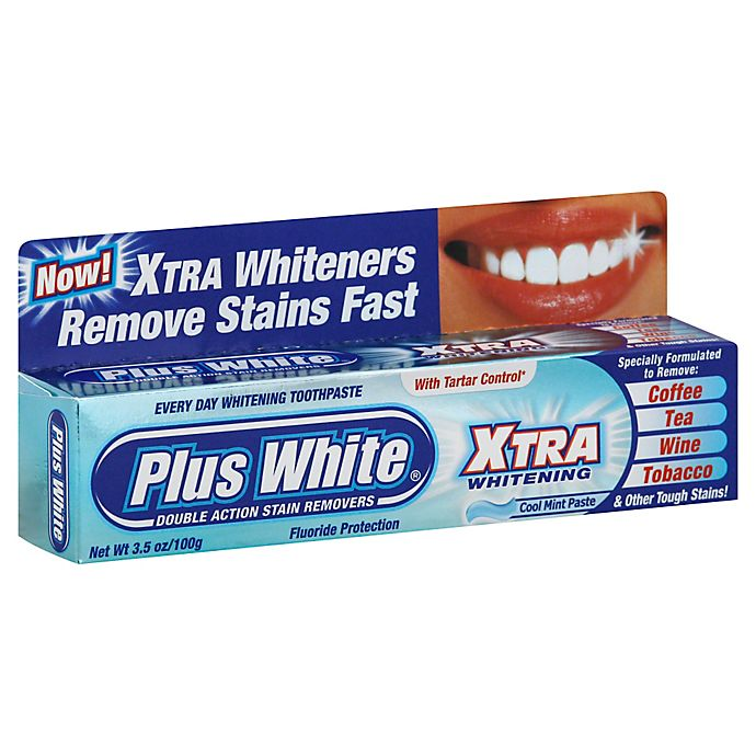 Alternate image 1 for Plus White 3.5 oz. Xtra Whitening Toothpaste in Mint