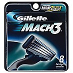 Gillette MACH3 Men's Razor Blade Refills 8 Count