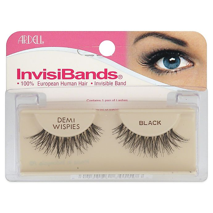 Alternate image 1 for Ardell® InvisiBands® Demi Wisp Lashes in Black