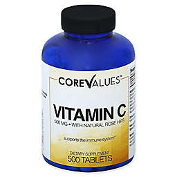 Core Values™ 500-Count 500 mg Vitamin C Tablets