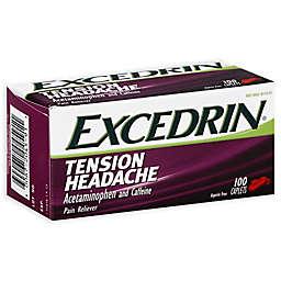 Excedrin® 100-Count Aspirin Free Tension Headache Pain Reliever