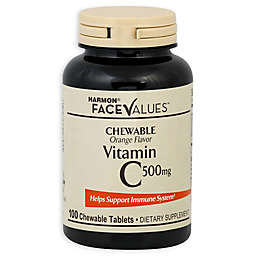 Harmon® Face Values™ 100-Count Chewable 500 mg Vitamin C