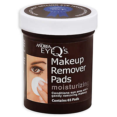 Andrea® Eye Q's® 65-Count Moisturizing Makeup Remover Pads
