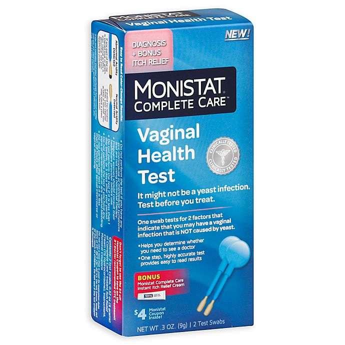Monistat Complete Care 2 Count Vaginal Health Test Bed Bath Beyond