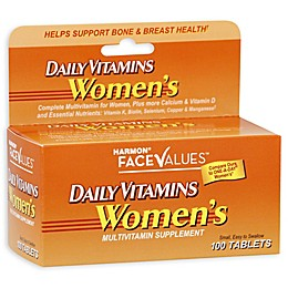 Harmon® Face Values™ 100-Count Women's Daily Vitamins Multivitamin Supplement