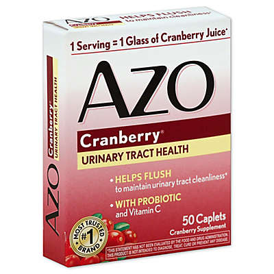 Azo Cranberry® Urinary Tract Health 50-Count Cranberry Supplement