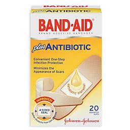 Band-Aid® 20-Count Adhesive Bandages Plus Antibiotic