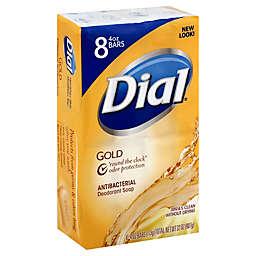 Dial® Gold Bar 8-Count 4 oz. Antibacterial Deodorant Soap