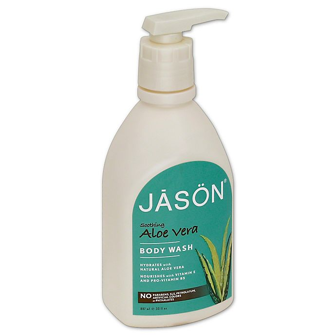 Alternate image 1 for Jason® 30 oz. Pure Natural Body Wash in Soothing Aloe Vera