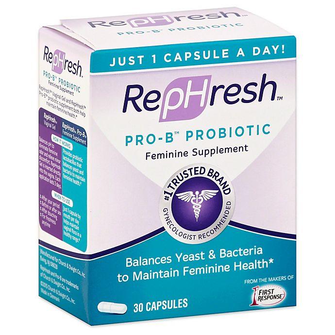 Alternate image 1 for RepHresh™ Pro-B™ 30-Count Probiotic Feminine Supplement Capsules
