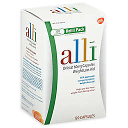 alli® Weight Loss Aid Orlistat 60 mg Capsules 120-Count Refill Pack