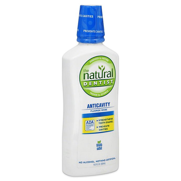 Alternate image 1 for The Natural Dentist 16 oz. Anticavity Fluoride Rinse
