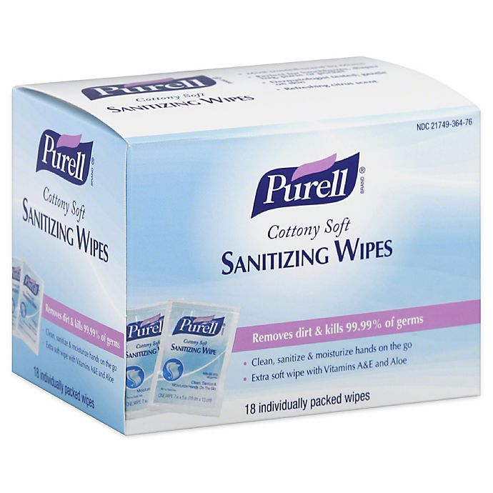 Purell® 18 Count Deep Clean Wipes | buybuy BABY