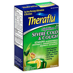 Theraflu® 6-Count Severe Cold Nighttime Packets