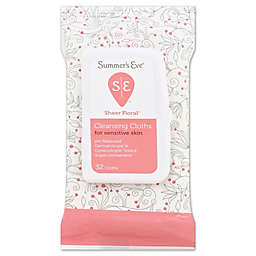 Summer's Eve® Sheer Floral® 32-Count Cleansing Cloths for Sensitive Skin