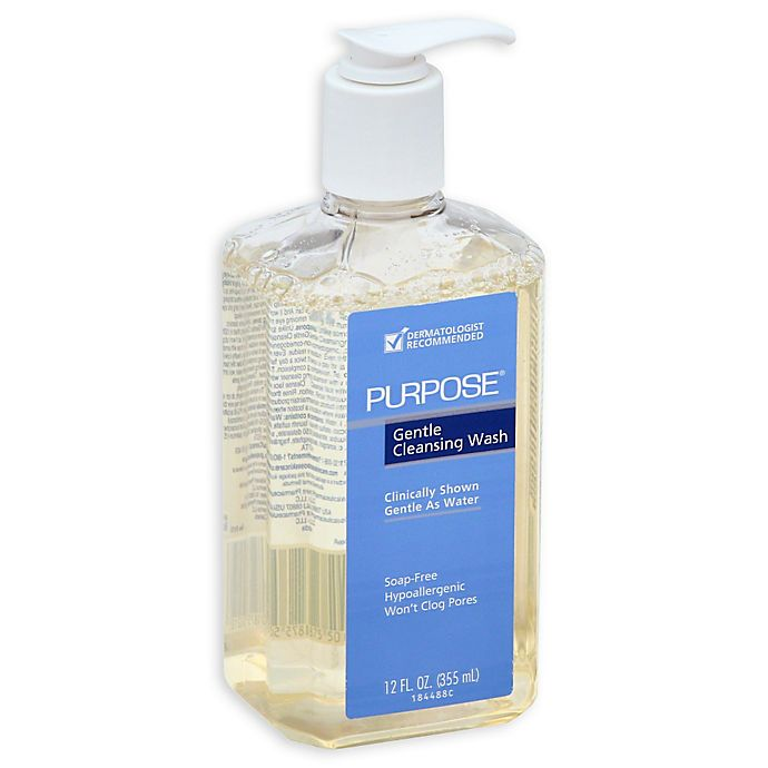 Alternate image 1 for Purpose® 12 fl. oz. Gentle Cleansing Wash Pump Bottle