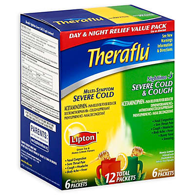 TheraFlu® 12-Count Day/Night Severe Cold Packets
