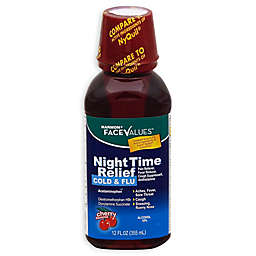 Harmon® Face Values™ 12 oz. Cold and Flu Night Time Relief Cherry