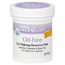 Harmon® Face Values™ 80-Count Oil-Free Eye Makeup Remover Pads