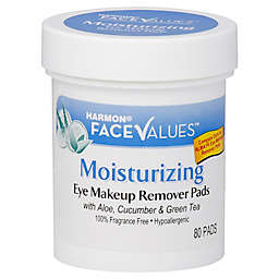 Harmon® Face Values™ 80-Count Moisturizing Eye Makeup Remover Pads