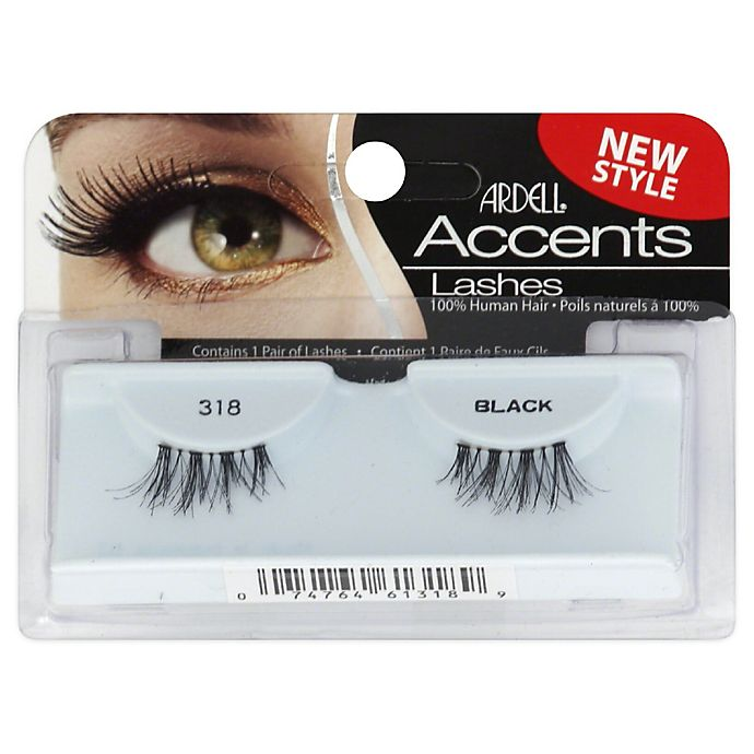 Alternate image 1 for Andrea Accents Lashes in 318 Black