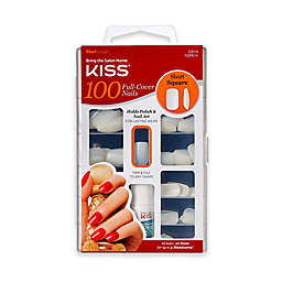KISS® 100-Count Full Cover Short Square Nails