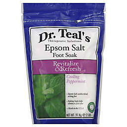 Dr. Teal's® Therapeutic Solutions 2 lb. Epsom Salt Foot Soak in Cooling Peppermint