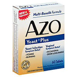 Azo Yeast® 60-Count Homeopathic Medicine Tablets