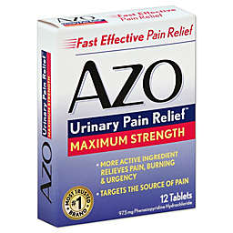Azo Urinary Pain Relief™ 12-Count Maximum Strength Tablets