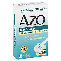 Azo Test Strips® 3-Count Urinary Tract Infection Test