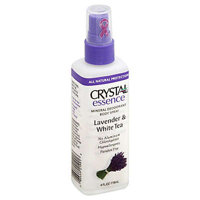 Crystal® Essence 4 oz. Mineral Deodorant Body Spray with Lavender and White Tea