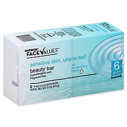 Harmon® Face Values™ 4 oz. 6-Count Deep Moisturizing Beauty Bar for Sensitive Skin