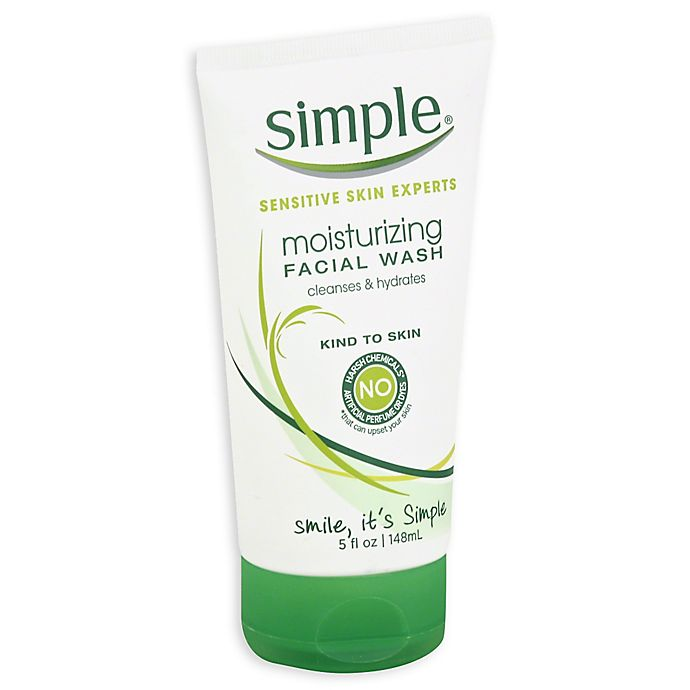 Alternate image 1 for Simple® 5 fl. oz. Moisturizing Facial Wash