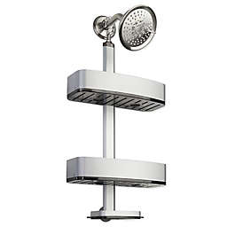 InterDesign® Rustproof Aluminum Adjustable Shower Caddy