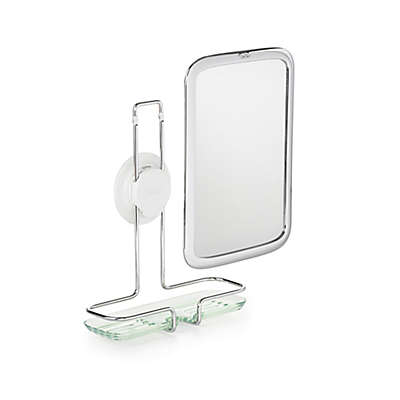 OXO Good Grips® Fogless Adhesive Mount Mirror in Chrome