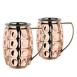 Old Dutch International 24-oz. Copper Grenada Moscow Mule Mugs (Set of 2)