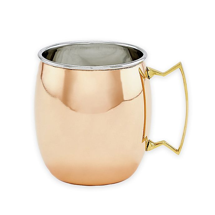 Alternate image 1 for Old Dutch International Solid Copper Moscow Mule Mugs (Set of 2)