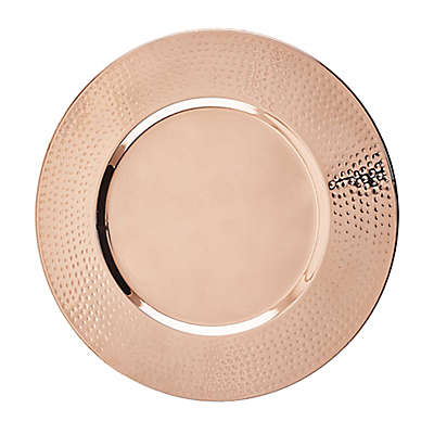 Old Dutch International 16-Inch Décor Copper Charger Plates (Set of 4)