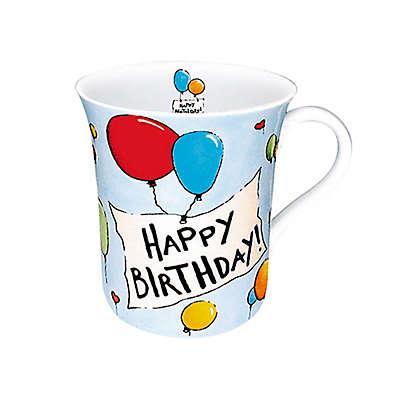 """Konitz """"Happy Birthday"""" Mugs (Set of 4)"""