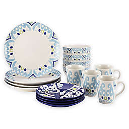 Rachael Ray™ Ikat 16-Piece Dinnerware Set