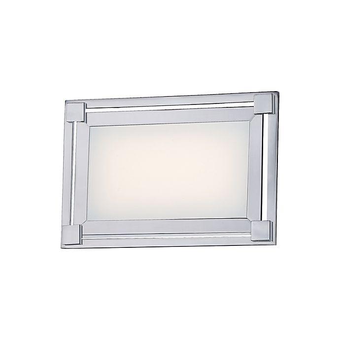 Alternate image 1 for George Kovacs® Framed LED Bath Lamp with Chrome Finish