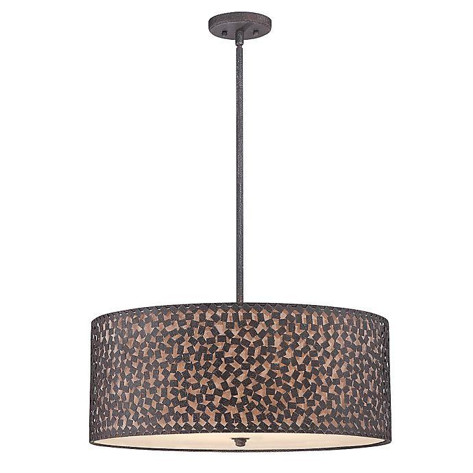 Alternate image 1 for Quoizel Confetti 5-Light Pendant Ceiling Fixture