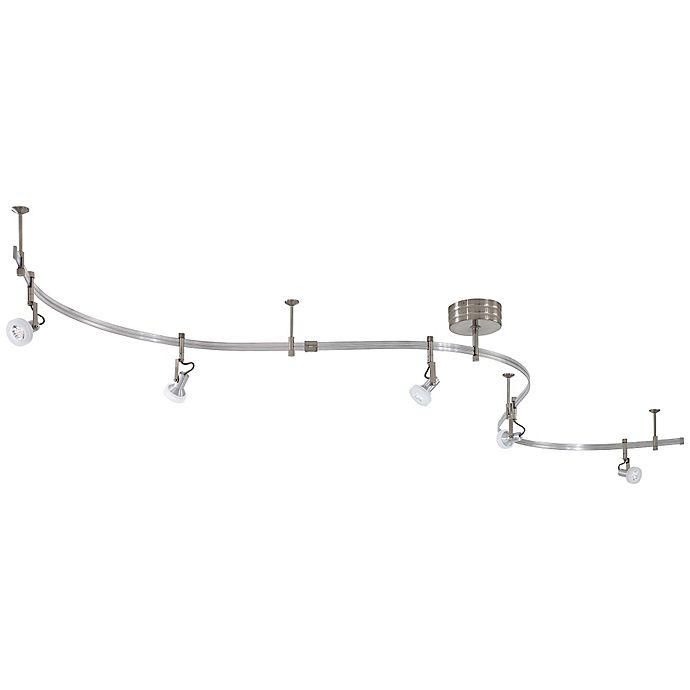 Buy George Kovacs 5-Light LED Track Light Kit In Brushed