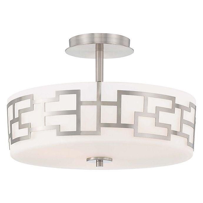 Necklace 3 Light Semi Flush Mount