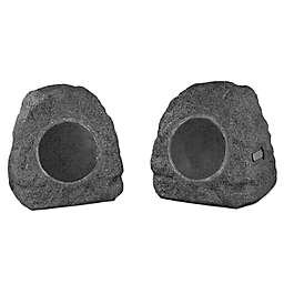 Innovative Technology™ Wireless Outdoor Rock Speakers (Set of 2)